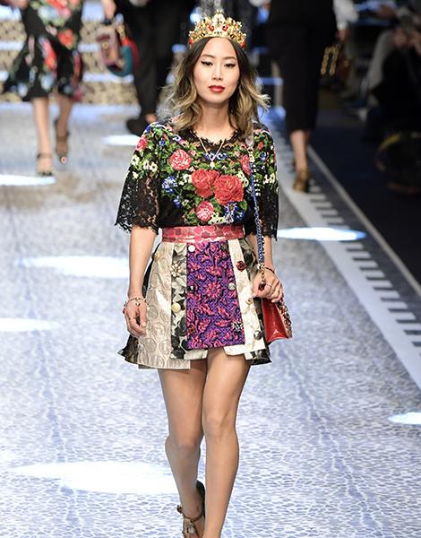 Молодые львы: шоу Dolce & Gabbana в Милане | галерея [1] фото [13]