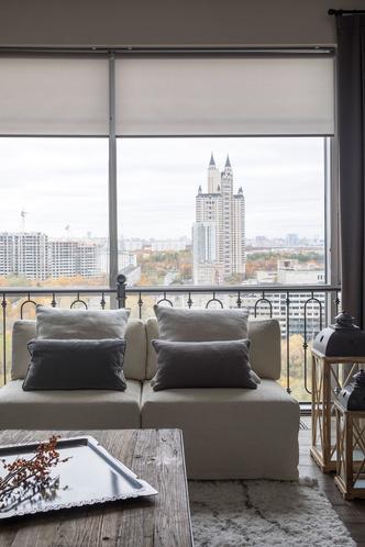 Квартира 200 квадратных метров в Москве: современный интерьер с налетом старины (фото 19)