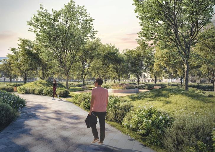 Компания Arteza разработала ландшафтную концепцию развития  общественных зон города Доброград (фото 3)