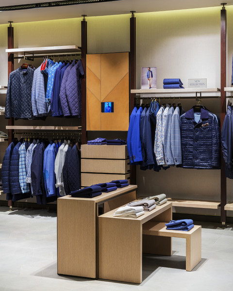 Бренд Meucci представил новую концепцию фирменных магазинов | галерея [1] фото [5]