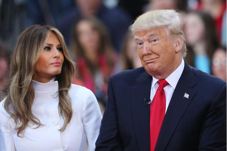 Мелания Трамп обогнала супруга по популярности (фото 1)