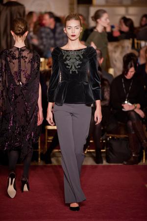 Показы мод Zac Posen Осень-зима 2013-2014 | Подиум на ELLE - Подиум - фото 872