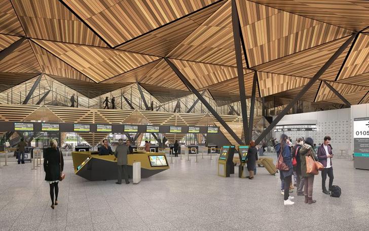 Проект реконструкции аэропорта Нового Уренгоя (фото 11)