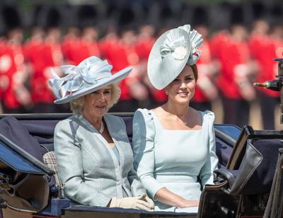 Образ дня: Кейт Миддлтон на дне рождении королевы (галерея 1, фото 0)