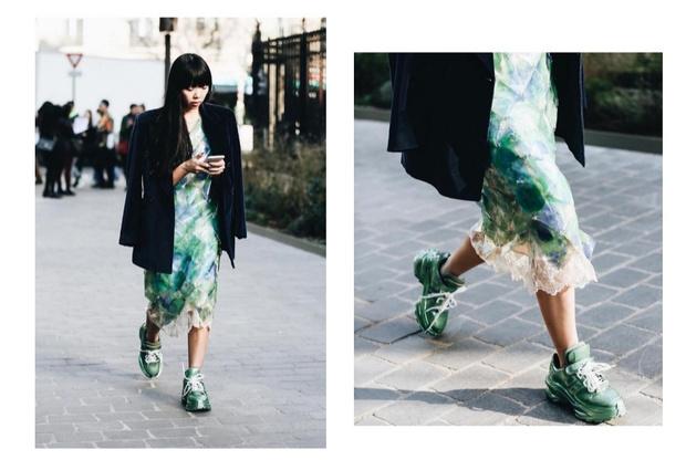 Без чего весна — не весна: атласная юбка (фото 1)