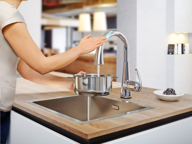 «Умная» кухня: смесители, упрощающие жизнь (фото 5)
