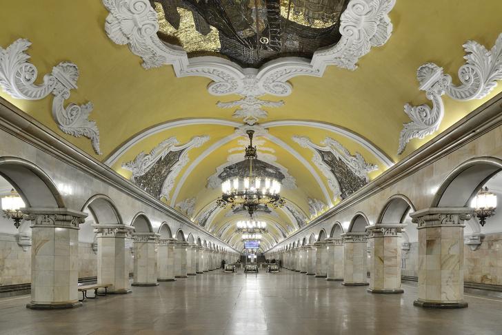Книга «Карта архитектуры метро Москвы» (фото 3)