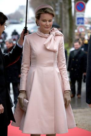 Королева Бельгии Матильда