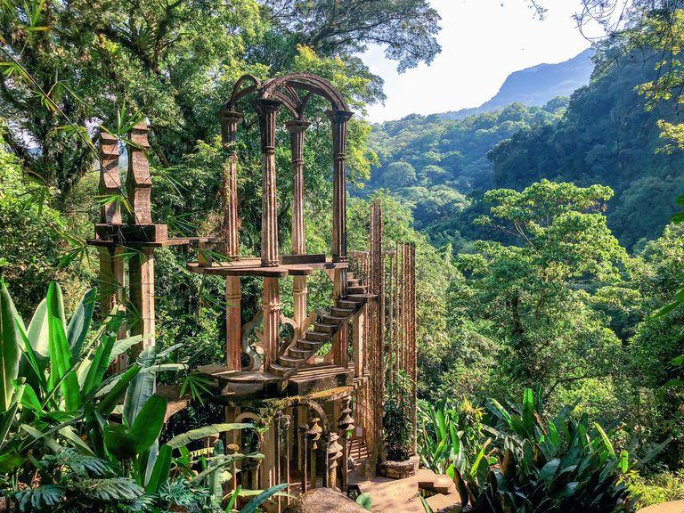 Las Pozas: cюрреалистический парк в мексиканских джунглях (галерея 12, фото 2)