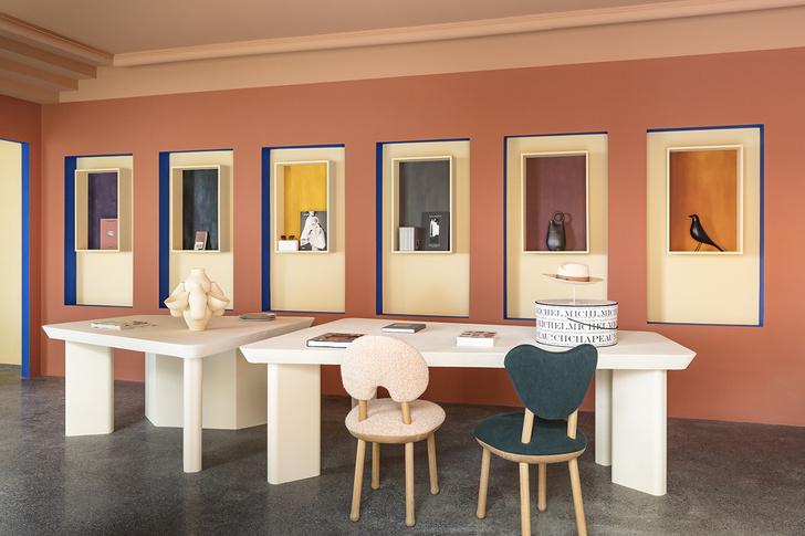 Сувенирный магазин по дизайну Пьера Йовановича в арт-центре Villa Noailles (фото 10)