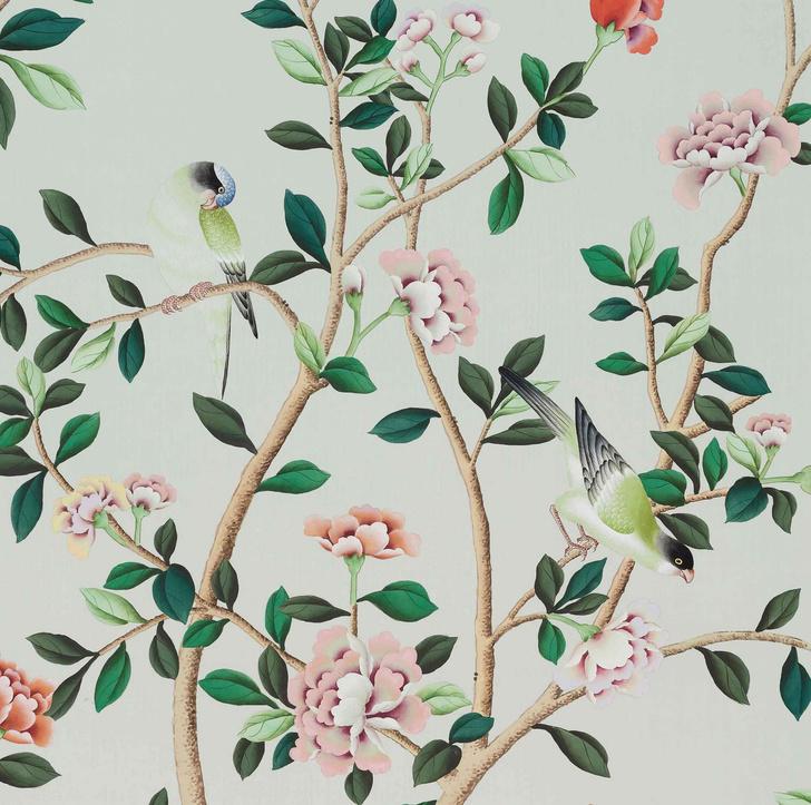 Вечная весна: обои из коллекции De Gournay и Erdem (фото 2)