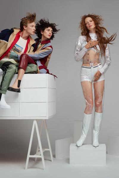 Сезонный сейл в «Цветном» и модные аллюзии на Возрождение в новой съемке (галерея 6, фото 6)