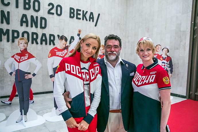 Татьяна Навка, Михаил Куснирович и Светлана Хоркина