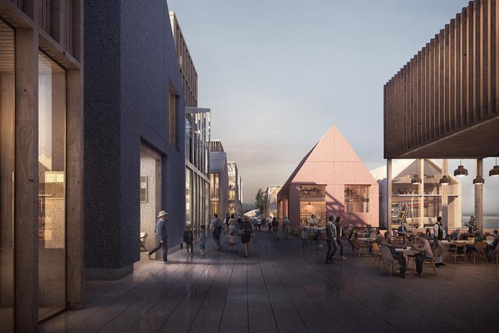 На месте бывшего аэропорта В Осло появится новый городской Аквариум фото [9]