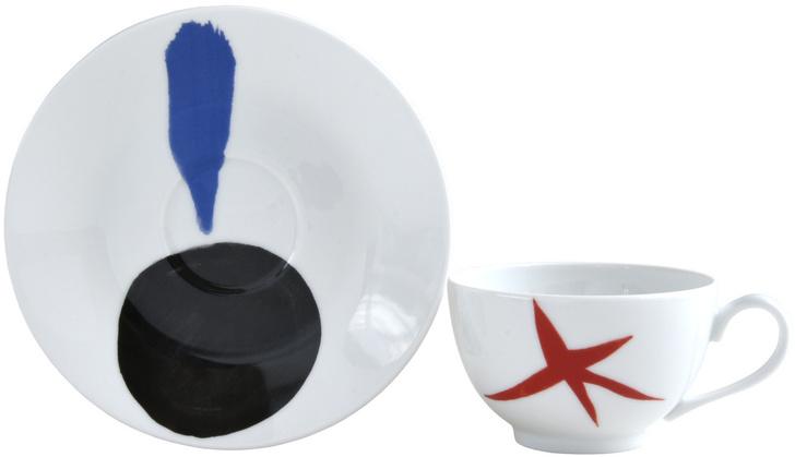 Коллекция посуды Bernardaud с рисунками Жоана Миро (фото 3)