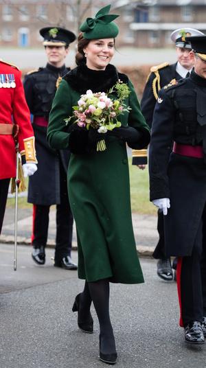Кейт Миддлтон и принц Уильям на параде в честь Дня святого Патрика (фото 8.2)