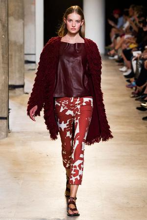 Показы мод Isabel Marant Весна-лето 2015 | Подиум на ELLE - Подиум - фото 4189
