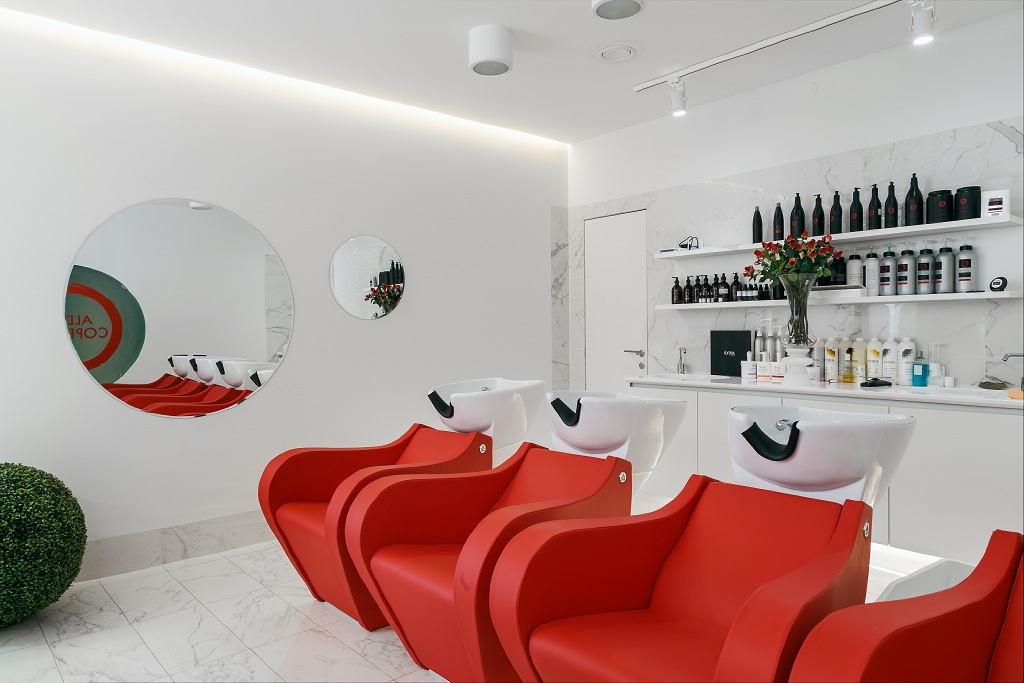 Aldo Coppola, Екатеринбург, интерьеры, дизайн, салон красоты, Никита Жиляков