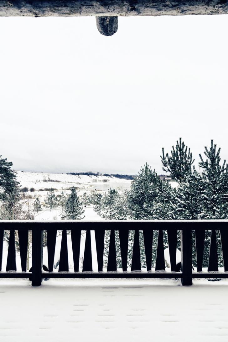 Зимняя дорога: загородный дом на Волге (фото 19)
