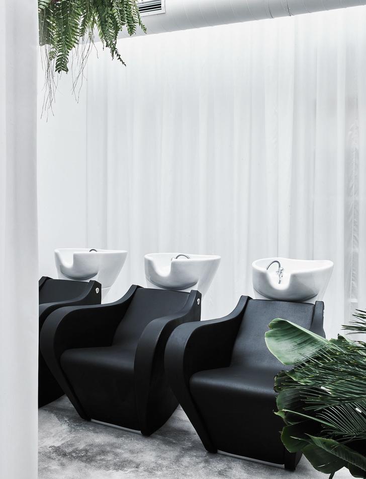 Салон красоты в Мадриде в скандинавском стиле (фото 8)