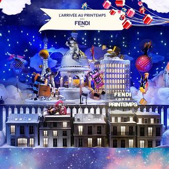 Зимняя сказка: лучший рождественский декор витрин фото [11]