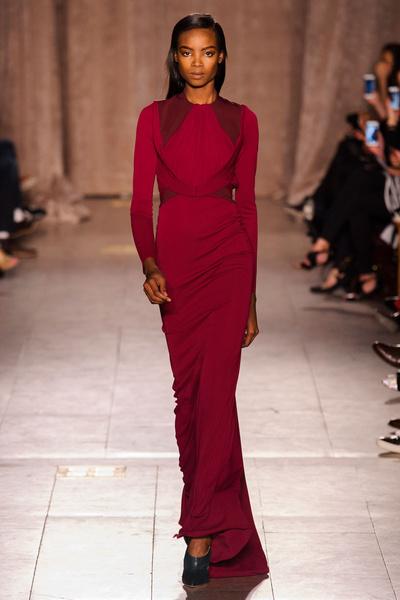 Black tie: показы Carolina Herrera, Reem Acra и Zac Posen на Неделе моды в Нью-Йорке | галерея [1] фото [7]