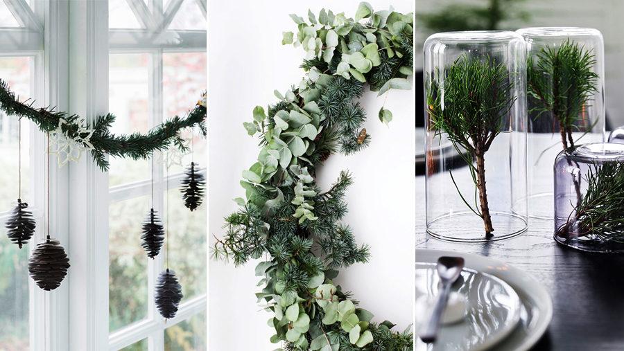 Чем заменить новгоднюю елку? Зеленый декор своими руками (фото 1)
