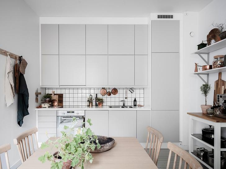 Скандинавский минимализм: квартира в Гетеборге (фото 16)