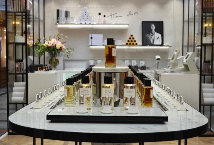Пространство Maison Christian Dior в московском ГУМе (фото 2)