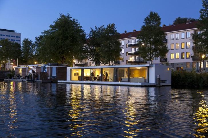 Тренд: плавучие дома (фото 1)