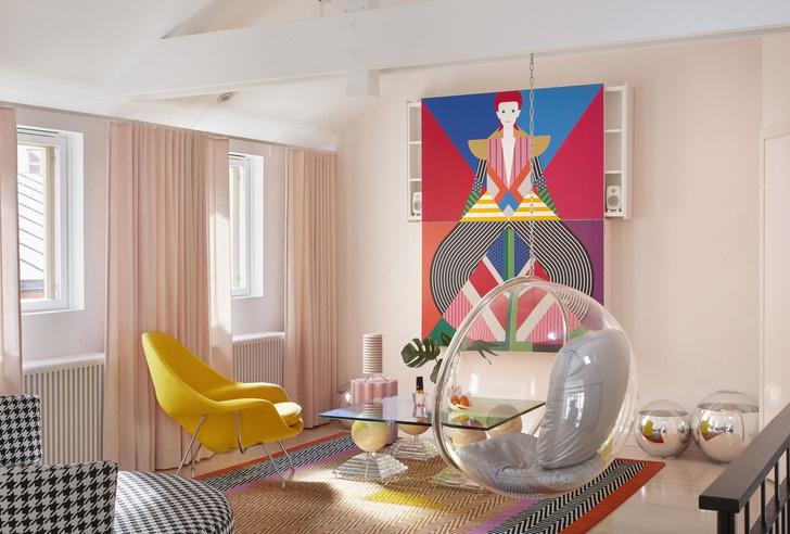 Креативные гостиные: 20+ вдохновляющих примеров (галерея 1, фото 3)