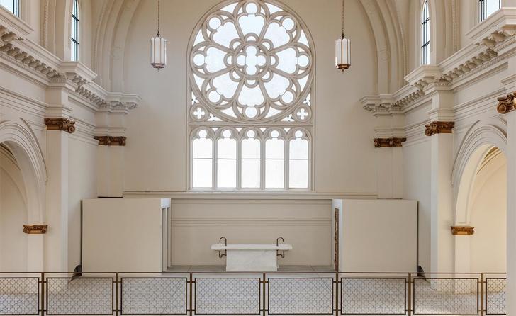 Дизайн-галерея в старой церкви Сан-Франциско (фото 6)