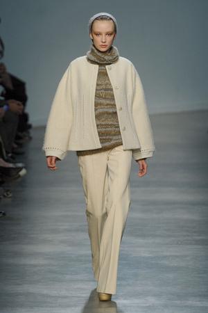 Показы мод Vanessa Bruno Осень-зима 2011-2012 | Подиум на ELLE - Подиум - фото 2126