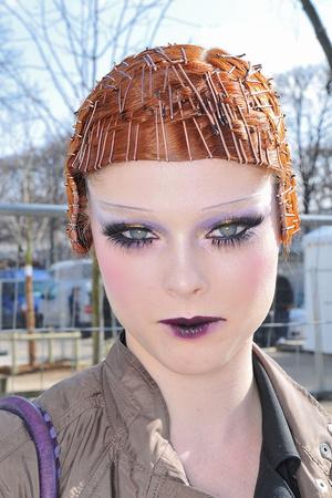 Показ Christian Dior коллекции сезона Осень-зима 2009-2010 года Prêt-à-porter - www.elle.ru - Подиум - фото 97653