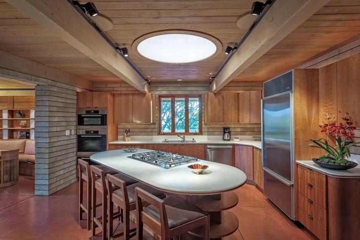 Дом по проекту Фрэнка Ллойда Райта на Гавайях (фото 8)