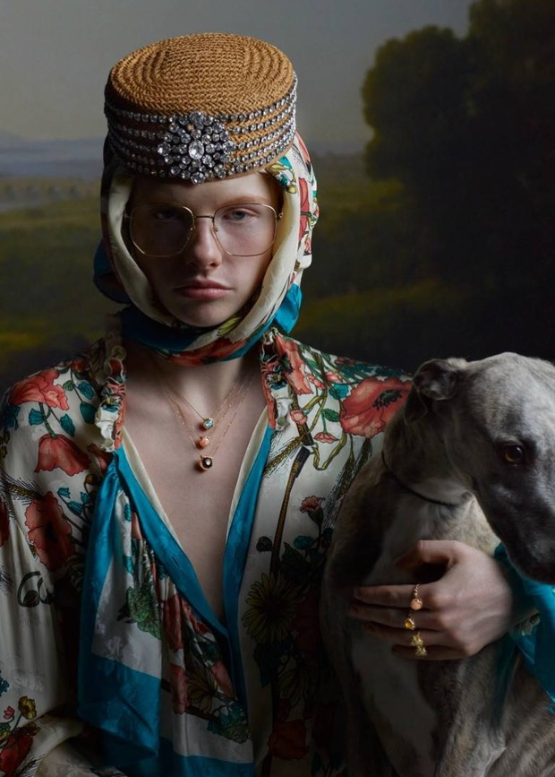 Слишком красиво: ювелирная кампания Gucci как произведение искусства (фото 7)