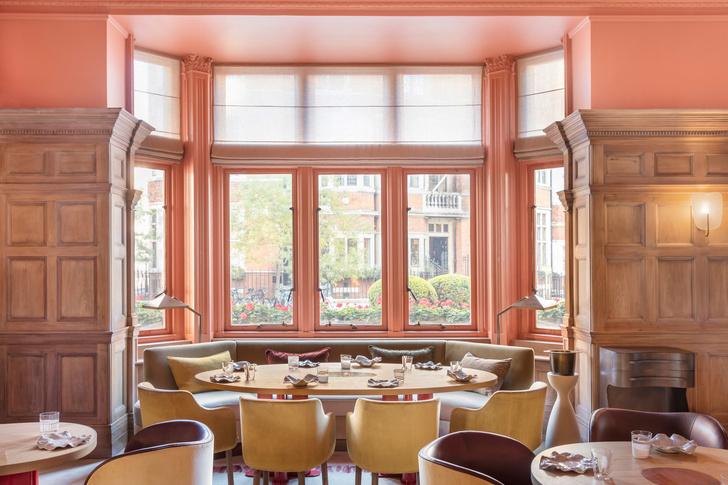 Ресторан по проекту Пьера Йовановича в отеле The Connaught (фото 2)