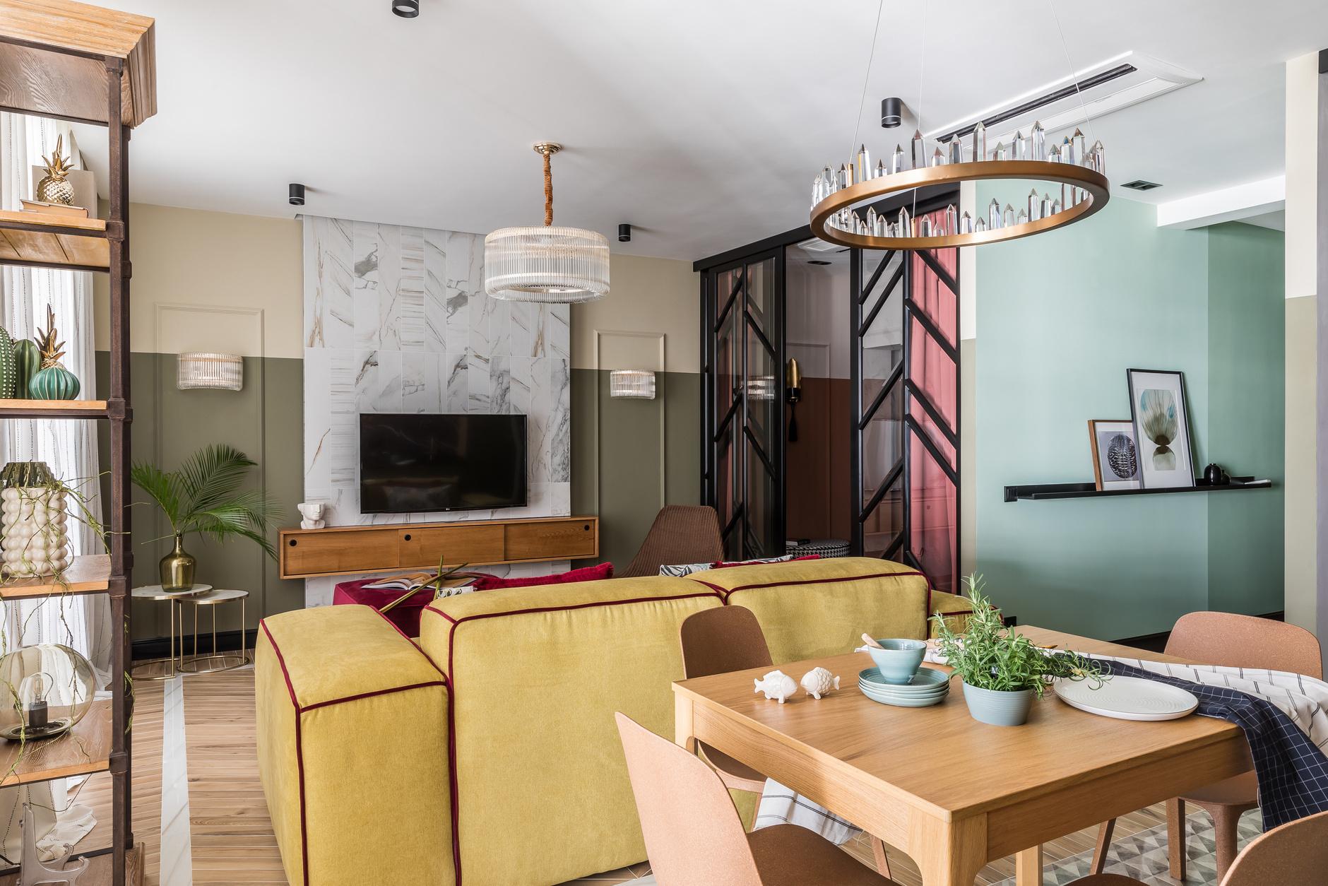 Дизайн кухни-гостиной: 30+ примеров (галерея 0, фото 2)