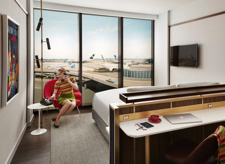 Открылся отель в заброшенном терминале аэропорта JFK (фото 8)