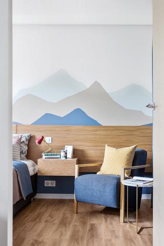 Счастье не за горами: квартира 48 м² по проекту Татьяны Страту (фото 19)
