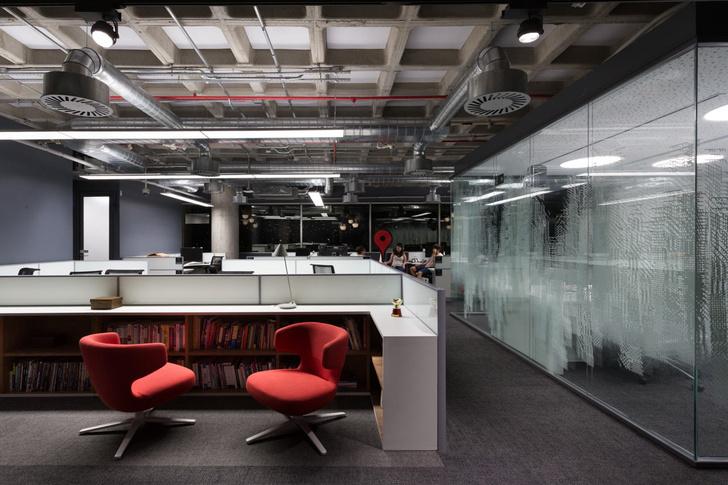 Необычный офис Google в Бразилии (фото 11)