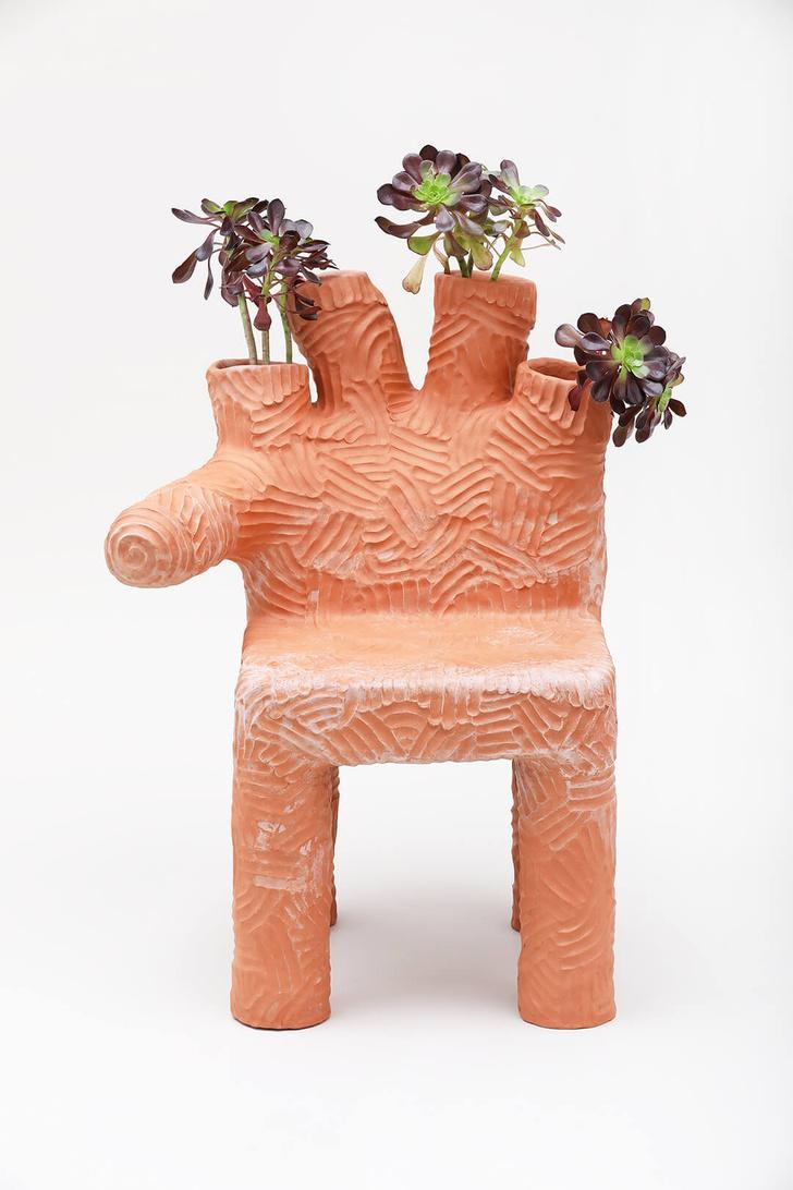 Глиняная мебель Криса Уолстона (фото 4)