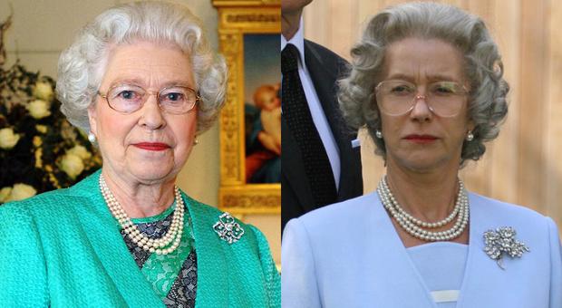 Хелен Миррен в образе Елизаветы II