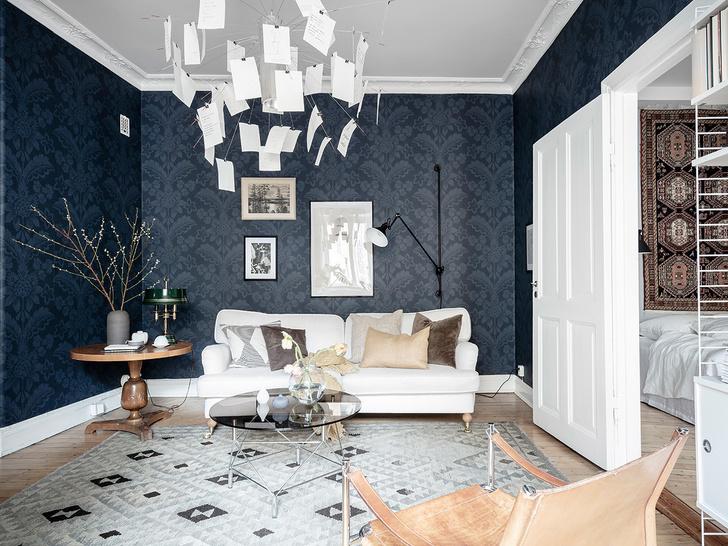 Скандинавский минимализм: квартира в Гетеборге (фото 0)