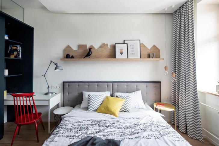 Квартира 150 м²: нескучный проект в скандинавском стиле (фото 18)