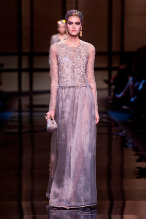 Показ Giorgio Armani Privé коллекции сезона Весна-лето 2014 года Haute couture - www.elle.ru - Подиум - фото 574941