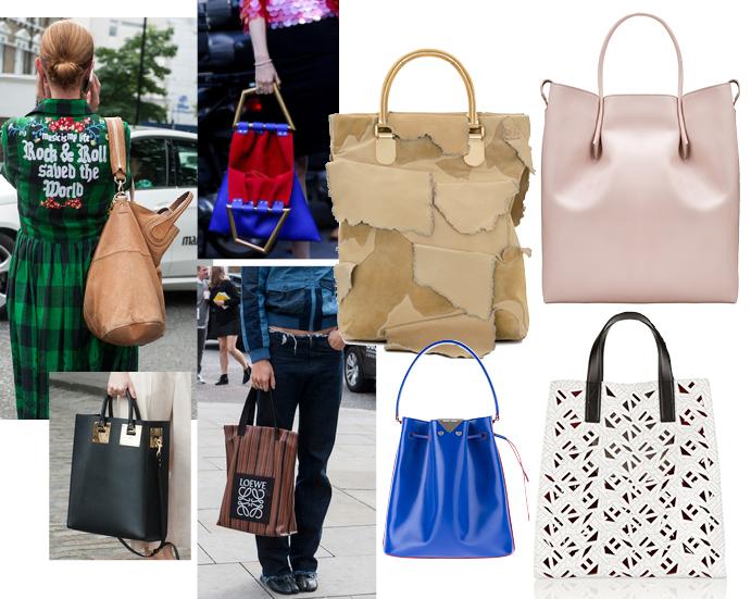 Модные аксессуары весна лето 2015 Большая сумка