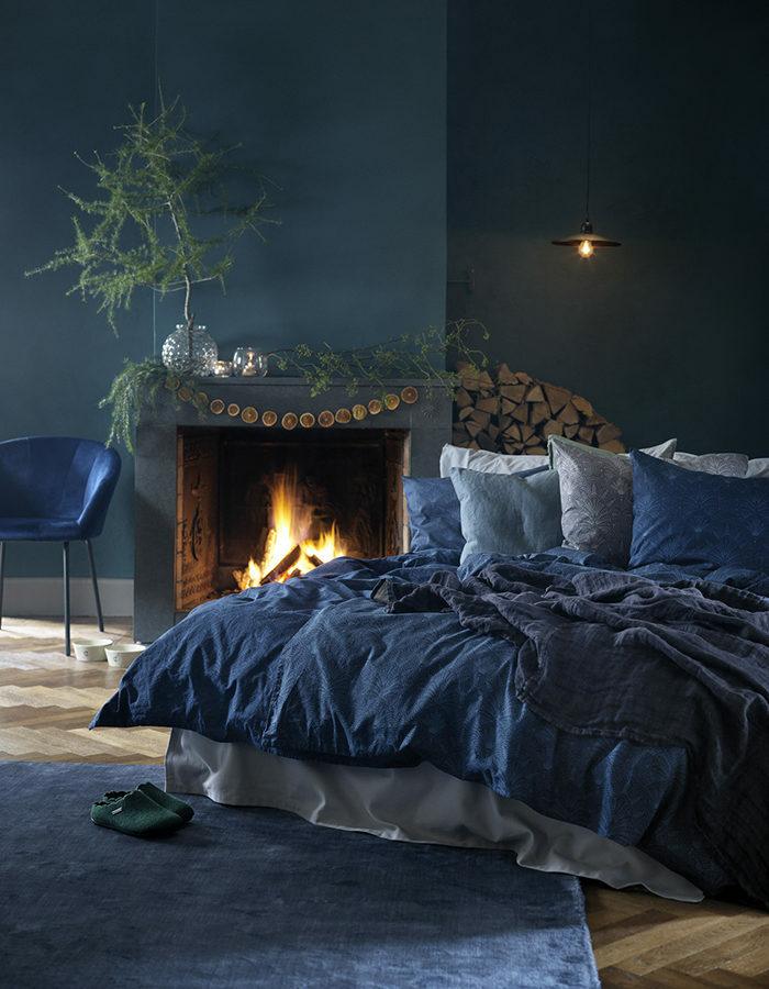 Зима, приходи! Новогоднее настроение в спальне (фото 8)