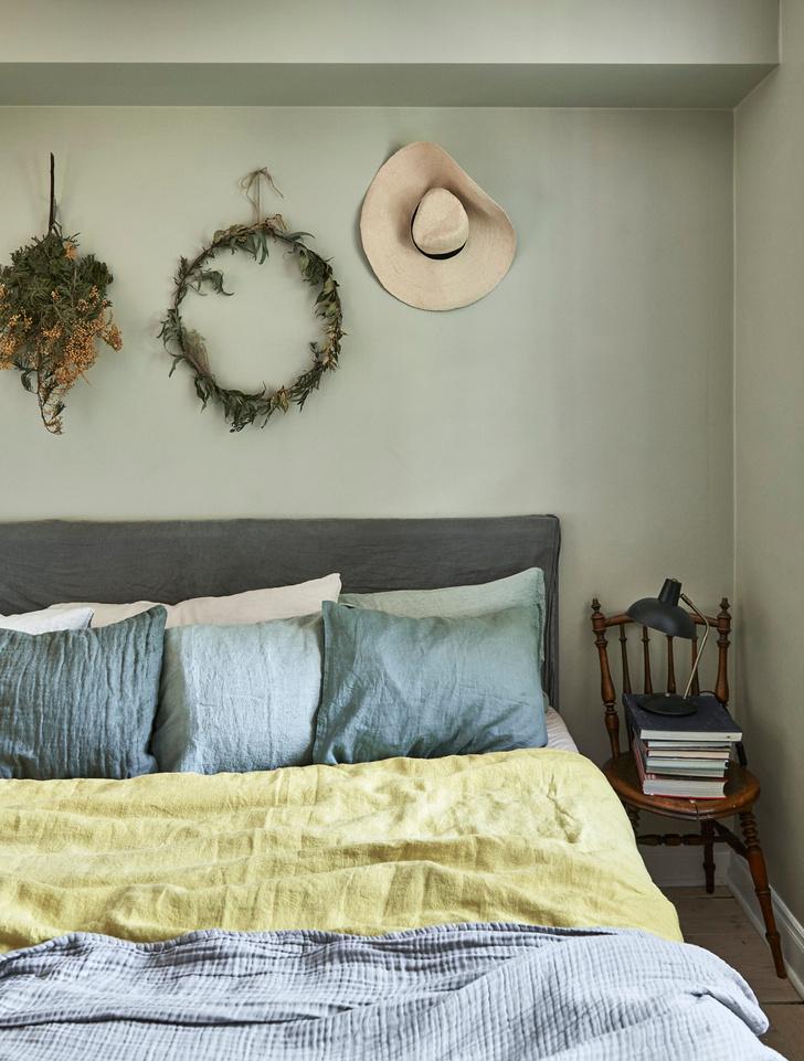 Скандинавский голубой: дом стилиста Софии Вуд (фото 8)