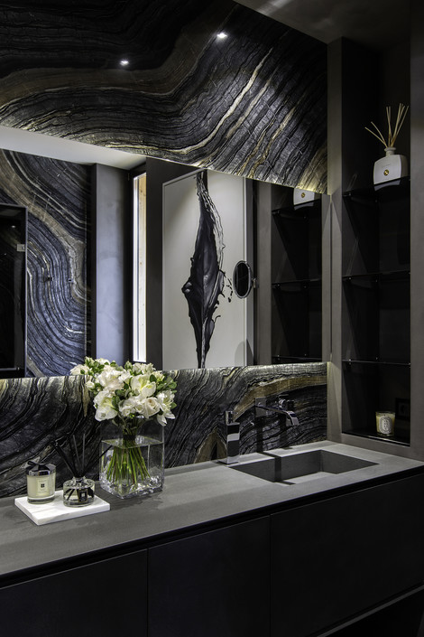 Сдержанная роскошь: дом 500 м² в Подмосковье (фото 17)